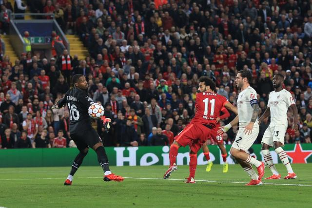 Mike Maignan (AC Milan) a épaté l'Italie contre Liverpool