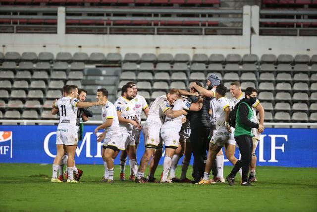 Mont-de-Marsan écrase Agen et conforte sa première place de Pro D2
