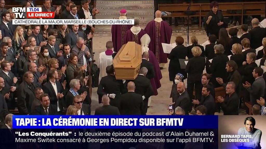 Obsèques de Bernard Tapie : l'adieu symbolique de sa fille Sophie pour ouvrir la cérémonie