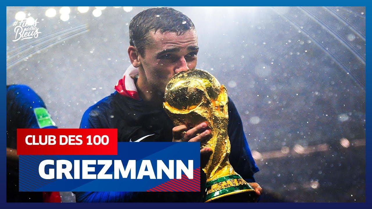Antoine Griezmann dans le club des 100, Equipe de France I FFF 2021