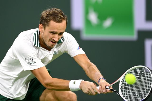 Le n°2 mondial Daniil Medvedev éliminé en huitièmes à Indian Wells par Grigor Dimitrov